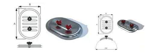 ревизионные лючки для систем вентиляции