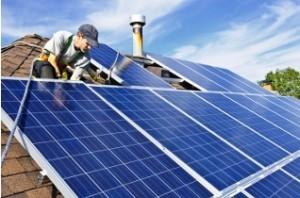 Солнечные батареи в загородном доме